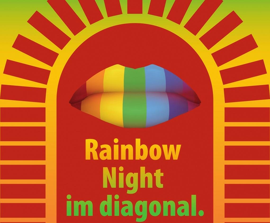 Rainbow-Night im Diagonal | schwul-bi-lesbische Party
