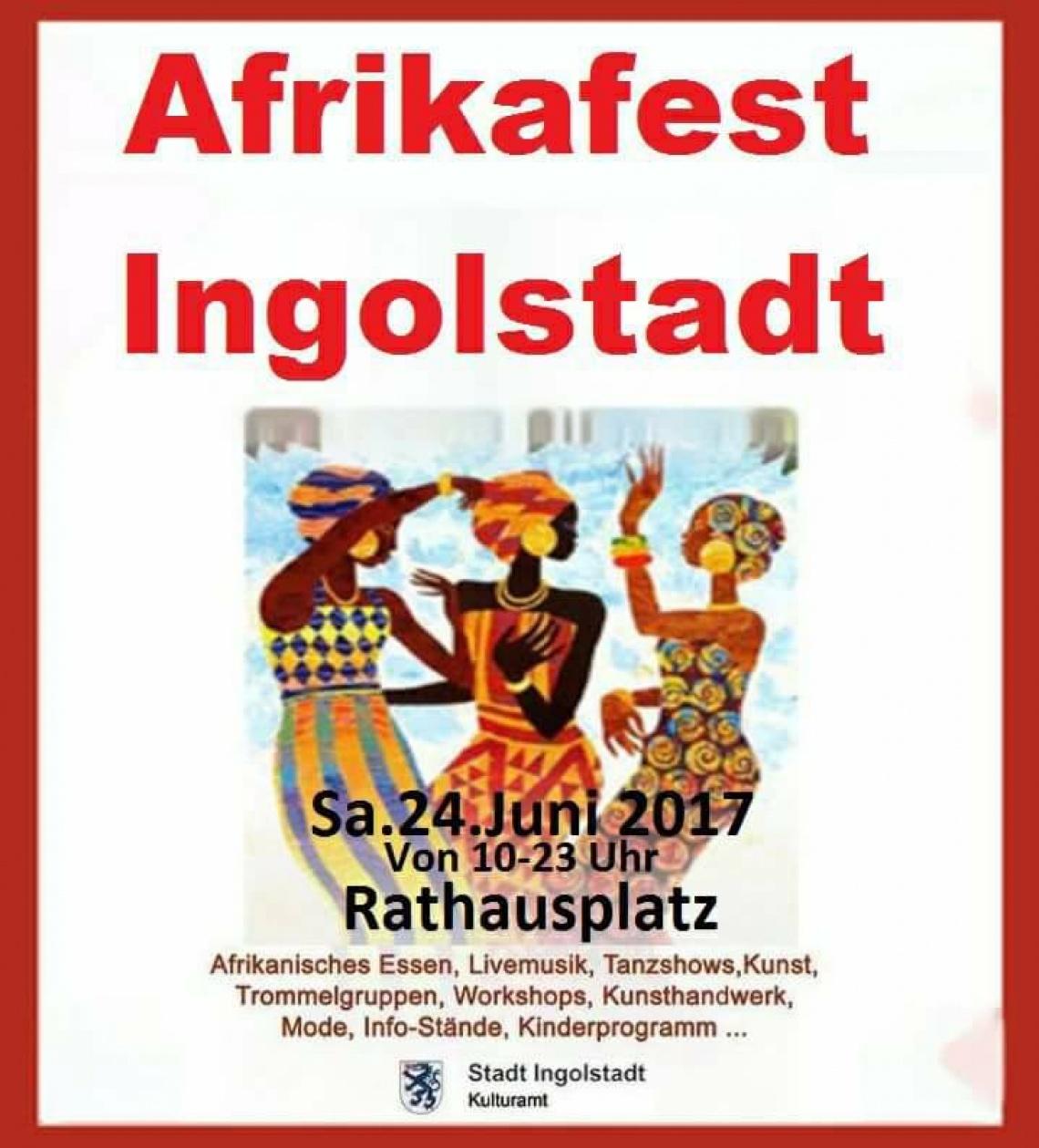 9. Ingolstädter Afrikafest | Rathausplatz und Innenstadt