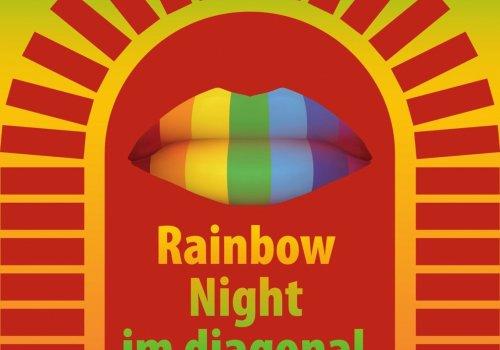 Rainbow-Night im Diagonal   schwul-bi-lesbische Party